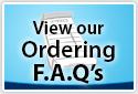 Ordering FAQ's
